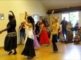 Cours de danse orientale à Versailles