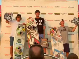 Phil Soven's 2012 Pro Wakeboard Tour #3 Winning Run
