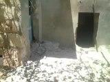 Syria فري برس حلب بيانون اثار القصف على المنازل 11 6 2012جــ2 Aleppo