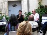 """Nathalie Léger à la Librairie """"Des livres et des hommes"""" à Beaune (21) le 8 juin 2012 pour son livre """"Supplément à la vie de Barbara Loden"""" (POL) - Prix du Livre Inter 2012"""