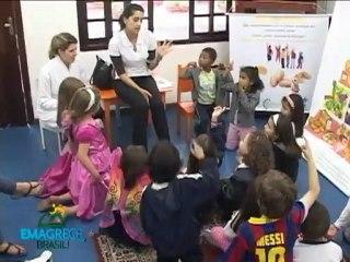 Emagrece, Brasil! chega à educação infantil
