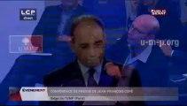 Conférence de presse de Jean-François Copé depuis le siège de l'UMP