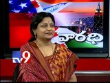 USA - Varadhi Congress leader Padmaja Reddy on by-elections with NRIs - Part 1