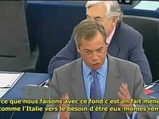Le génie de l'endettement mutuel - Nigel Farage