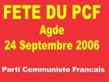 AGDE -2006 - Fête Parti Communiste 26 sept 2006 Agde