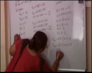 SSC (Tenth standard ) Algebra chapter 1 : Arithmetic progression and geometric progression exercise