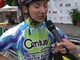 Interview de Justine Halbout - 3ème au Marathon roller de Dijon 2012
