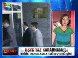 Hakimler ve savcılar yüksek kurulu yaz kararnamesi - 13 haziran 2012