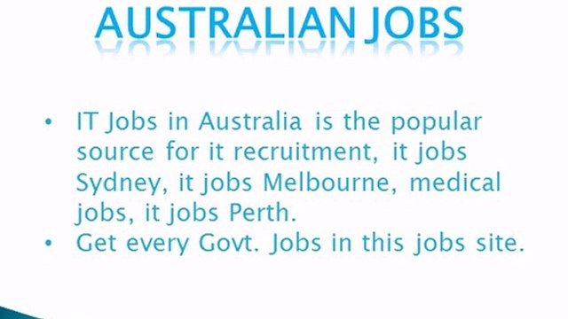 Australian Jobs