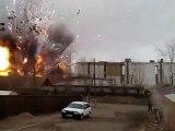 Explosion d'une usine de feux d'artifices