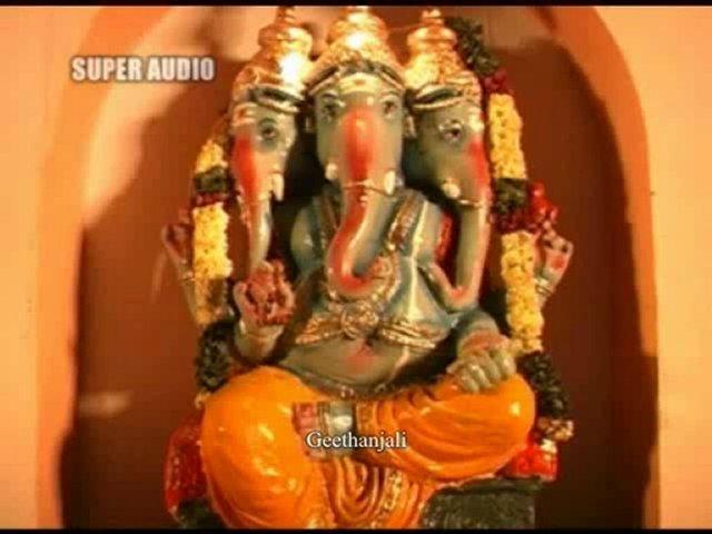 Vinayak — Sri Santhaana Ganapathi Sthothram — Sanskrit