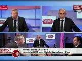 """Bruno Le Maire : """" le  ni-ni  ne suffira pas pour le long terme """" , En route vers la présidentielle"""