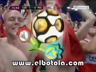 هدف التشيك الأول ضد بولندا