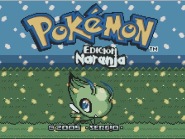 Direct-Live : Pokémon Naranja ( Pokémon Hack ) (GBA)