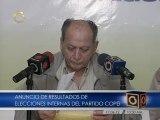 Roberto Enriquez ganó elecciones internas de Copei