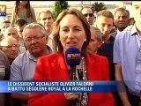 Ségolène Royal réagit à sa défaite face au dissident socialiste Olivier Falorni