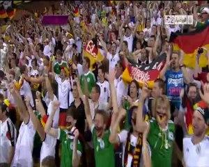 الهدف الاول لألمانيا أمام الدنمارك