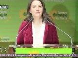 """Cécile Duflot se félicite """"de la naissance du 1er groupe écologiste"""""""
