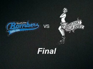 Lincolnshire Bomber Roller Girls vs Helsinki Roller Derby (Final) 2nd Period