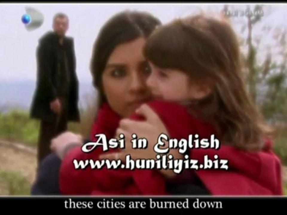 Asi 57 bolum Part 2 + Asi Generic with lyrics - English Subtitles
