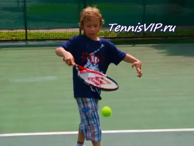 Большой теннис для маленьких. TennisVIP.ru +7(963)6397137