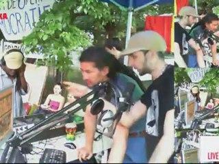 Radio Republika Verde la Street Delivery 2012 | live DJ session Johhny King/Stevie Bass