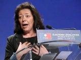 Grande soirée élections législatives 2012 - UMP Paris (int Claude Annick Tissot)