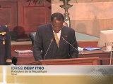 DISCOURS - Idriss DEBY ITNO- Tchad