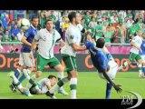 Euro 2012, l'Italia vince e i tifosi festeggiano... in inglese. Azzurri ai quarti con Cassano e Balotelli e grazie alla Spagna