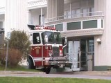 Moncton Fire respond to Hotel Moncton for smell of smoke. Magnetic Hill