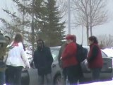 Asurion Building Evacuated Again , Codiac RCMP on scene , Moncton.