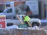 RCMP spot check Mapleton Rd. Moncton