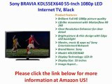 SPECIAL PRICE 2012 Sony BRAVIA KDL55EX640 55-Inch 1080p LED Internet TV, Black