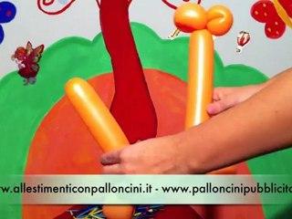 Balloon Art: come realizzare una giraffa con i palloncini modellabili