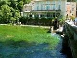 voyage Coquillade Autignac  juin 2012 Isle sur Sorgue Fontaine Vaucluse