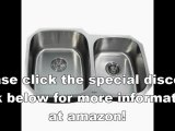 Best Buy Kraus KBU24 32-Inch Undermount 60-40 Double Bowl 16 gauge Kitchen Sink, Stainless Steel