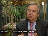 António Guterres, Haut Commissaire des Nations Unies...