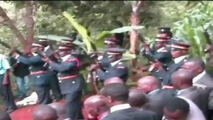 Crash victims burial