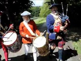 Le royal ecossais au chateau d'Hingene 10 juin 1771