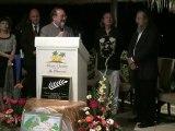 Laurier d'Or Hotel Coral Azur 2012 Ile Maurice par Eric Duluc Président de la Fédération Internationale du Tourisme