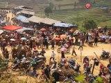 Marché multiethnique-Voyage au Vietnam, Trekking au Vietnam, Voyage de photo au Vietnam, séjours au Vietnam, hors des sentiers battus au Vietnam,Trek Vietnam, Voyage Vietnam
