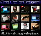 Ghost Hunting Equipment-Hunt Ghost Using High Tech Equipment