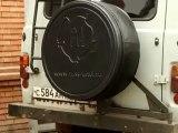 Бокс колпак запасного колеса (www.russ-artel.ru) UAZ УАЗ