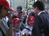 Manuel Valls rencontre les enfants du City Raid Andros