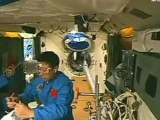 Chinese astronauts begin space-lab experiments
