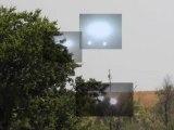Lumières étranges au-dessus d'un champs (Texas - Mai 2012)