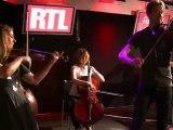 """Travelling Quartet interprètent """"come together"""" en live sur RTL"""