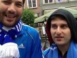 Έλληνες της Αυστραλίας μιλούν στην κάμερα του Contra.gr από το κέντρο του Γκντανσκ, για το ματς με τη Γερμανία