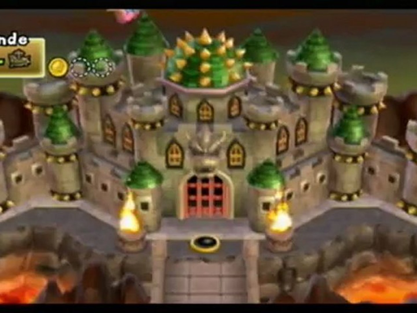 New Super Mario Bros Wii Final Boss Ending Video Dailymotion