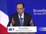 Point presse après la rencontre informelle des chefs d'Etat et de gouvernement à Bruxelles